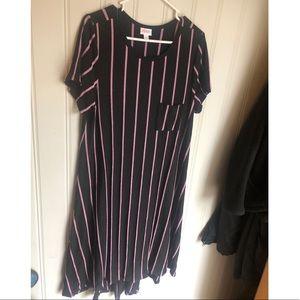 LuLaRoe Carly dress worn once size large